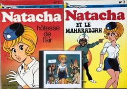 Walthéry/Natacha.   Ensemble Des 16 Premiers Tomes.  -Tome 1: édition De 1977.  TBE -Tome 2: EO De 1972.  TBE -Tomes 3 & - Books, Magazines, Comics