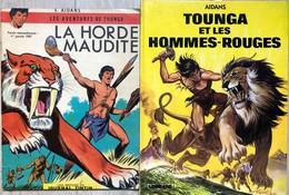 Tounga/Aidans.  Ensemble De 15 Albums: Tome 1: EO De 1964.  BE Avec Usures Des Plats, Intérieur En TBE+ 2e Série: Tomes  - Books, Magazines, Comics