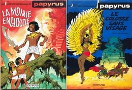 Papyrus/De Gieter.  Lot De 19 Albums Du Tome 1 à 20 En EO. Sauf Tomes 1 & 3. Le Tome 19 Est Manquant.  TBE - Books, Magazines, Comics