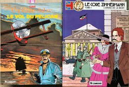 Ensemble De 20 Albums Issus De 2 Séries: -Carin/Victor Sackville.  Tomes 1 à 13 EO En TBE+ -Gine/Capitaine Sabre.  Série - Libros, Revistas, Cómics