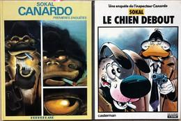 Sokal/L'inspecteur Canardo.  Ensemble Des 10 Premiers Tomes EO.  Etat Neuf - Libros, Revistas, Cómics