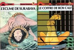 Michel Schetter/Cargo.  Ensemble Des 8 Tomes EO.  Etat Neuf. - Libros, Revistas, Cómics