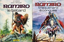 Vance/Ramiro.  Ensemble Des 9 Tomes EO.  Etat Neuf - Libros, Revistas, Cómics