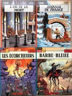 J Martin/Pleyers/Xan/Jhen.  Ensemble Des 8 Tomes EO.  Etat Neuf - Libros, Revistas, Cómics