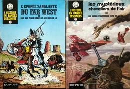 """""""l'Histoire En BD"""".  Ensemble Des 17 Tomes.  Editions Des Années 70 Et 80.  TBE+ - Libros, Revistas, Cómics"""
