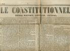 Journal LE CONSTITUTIONNEL, N° 342 (7 Décembre 1848) : Elections,Louis-Napoléon Bonaparte, Nouvelles De France, Etranger - Kranten