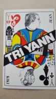 TRI Yann Jean KIKI Carte Autocollant Café Du Bon Coin - Chanteurs & Musiciens