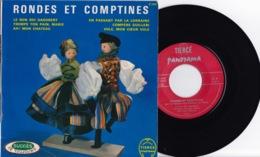 Disque Vinyle 45 Tours—Rondes Et Comptines—Tiercé Panorama—Années 60 - 45 G - Maxi-Single