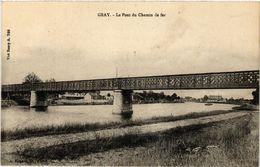 CPA Gray - Le Pont Du Chemin De Fer (437321) - France