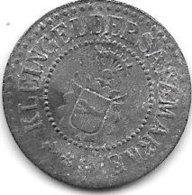 *notgeld Neumunster 5 Pfennig ND Zn 368.1 - Autres
