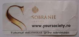 ROMANIA-CIGARETTES  CARD,NOT GOOD SHAPE,0.90 X 0.41 CM - Ohne Zuordnung