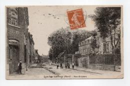 - CPA LYS-LEZ-LANNOY (59) - Rue De Leers 1928 (avec Personnages) - - France
