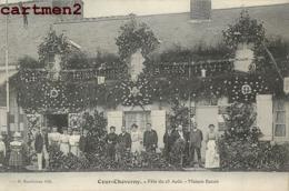 COUR-CHEVERNY FETE DU 23 AOUT MAISON BAON 41 - Cheverny
