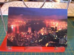 149366 FROM HONG KONG AT NIGHT - Cina (Hong Kong)