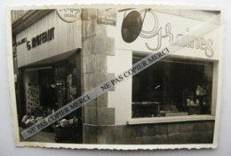 PHOTO ORIGINALE Aurillac 15 Cantal Magasin Calvet Graines Truffaut Jardinerie Rue Des Carmes Jean Baptiste Rames - Aurillac