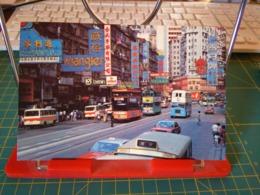 149368 FROM HONG KONG BUS AUTOBUS  SHOPPING CENTRE OF CAUSEWAY BAY - Cina (Hong Kong)