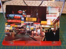 149369 FROM HONG KONG ADVERTISEMENT SIGN BOARDS DOMINATING THE STREETS OF TSIM SHA TSUI - Cina (Hong Kong)