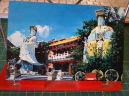 149371 FROM HONG KONG STATUE OF THIN HAU GODDESS AT REPULSE BAY - Cina (Hong Kong)
