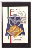TEM5507  -   BOLOGNA  5.6.1993   /   42° ANN. AVIAZIONE LEGGERA ESERCITO - 7°  RADUNO A.N.A.E. - Aerei