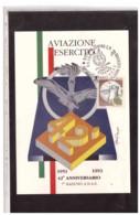 TEM5483  -   BOLOGNA  5.6.1993   /   42° ANN. AVIAZIONE LEGGERA ESERCITO - 7°  RADUNO A.N.A.E. - Aerei