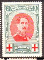 Belgique - Croix Rouge N° 132 Neuf Avec Charnière - Point De Rouille Sous La Charnière - 1914-1915 Croix-Rouge