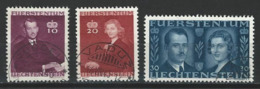 SBK 175-77, Mi 211-13  O Used - Used Stamps