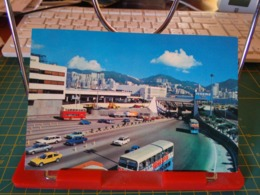 149377 FROM HONG KONG CROSS HARBOUR TUNNEL WITH HONG KONG ISLAND ON THE BACKGROUND - Cina (Hong Kong)