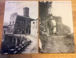 NEMI 2 Cartoline C. 1908 - Arezzo
