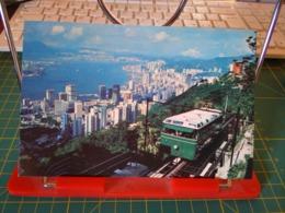149380 FROM HONG KONG A PEAK TRAM CLIMBING THE HIGHEST PEAK ON HONG KONG ISLAND - Cina (Hong Kong)
