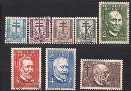 Belgie Belgique 1953 OCBn° 930-937 (°) Oblitéré Used Cote 39 Euro - Used Stamps