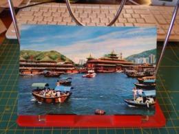 149383 FROM HONG KONG THE BUSY ABERDEEN HARBOUR - Cina (Hong Kong)