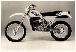 Puch F3  +-18cm X 12cm  Moto MOTOCROSS MOTORCYCLE Douglas J Jackson Archive Of Motorcycles - Sonstige