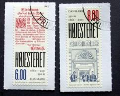 Denmark 2011   Minr.1636-37    (O)  ( Lot  D  826 ) - Danimarca