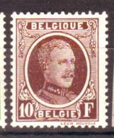 Belgique - Albert 1er Type Houyoux - 210 Neuf Avec Trace De Charnière - 1922-1927 Houyoux