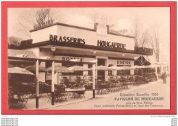 CP Ancienne HOEGARDEN  HOUGAERDE Brasserie Bière Beer Bier Pavillon à L'exposition 1935 - N'a Pas Circulé - Bel état - Hoegaarden