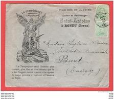 L Illustrée LA TEMPERANCE Terrasse L'Alcoolisme  Ecole Patronage SAINT ANTOINE à FREYX RONDU  Caisse épargne PROVY - 1915-1920 Albert I.