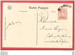 CP BRUGES  TP Albert   Obl  BRUGGE - Fortune ? - Foruna (1919)