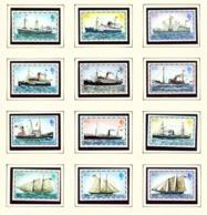 FALKLAND ISLANDS - 1978 Ship Definitives No Date Imprint Set Unmounted/Never Hinged Mint - Falklandinseln
