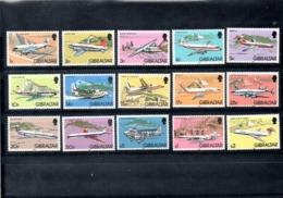 Gibraltar Nº 439-53  Aviones, Serie Completa En Nuevo 70 € - Gibraltar