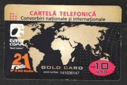 TELEPHONE CARD ROMANIA  10$ - Télécartes