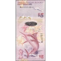 TWN - BERMUDA 58a - 5 Dollars 1.1.2009 Hybrid - Bermuda Onion Prefix - Signatures: Cossar & Simmons UNC - Bermudas