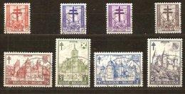 Belgie Belgique 1951 OBCn° 868-875 (°) Oblitéré Used Cote 35 Euro Kastelen Châteaux - Used Stamps