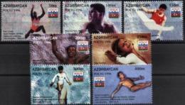 AZERBAIJAN, 1996, OLYMPICS ATLANTA, YV#267-73, MNH - Aserbaidschan