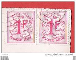 Timbres Rouleaux Sur Document - R6 - Pas Courant ! COXYDE (Eglise Des Dunes)  1965 Vers Lourdes - Rollen