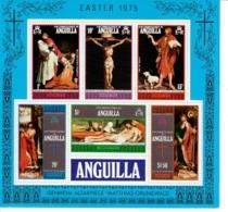 ANGUILLA 1975 - PASQUA - FOGLIETTO  -    MNH** - Anguilla (1968-...)
