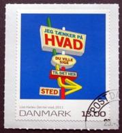 Denmark  2011 KUNST    MiNr.1639  (o)   ( Lot  D 1339 ) - Danimarca