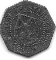 *notgeld   Neustadt A/d Haardt 10 Pfennig 1917   Zn  374.2c - [ 2] 1871-1918 : Empire Allemand