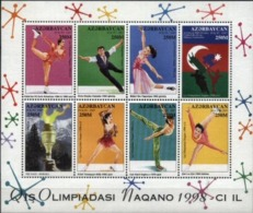 AZERBAIJAN, 1998, NAGANO, WINTER OLYMPICS, YV#361-68, MNH - Aserbaidschan