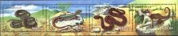 AZERBAIJAN, 2000, FAUNA, REPTILS, YV#402-05, MNH - Aserbaidschan