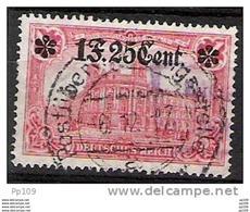 Germania (territoire Des étapes à Partir Du 1 Décembre 1916) OC36 Obl. COB 60 Euros - [OC26/37] Staging Zone